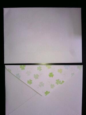 写真・手作り封筒