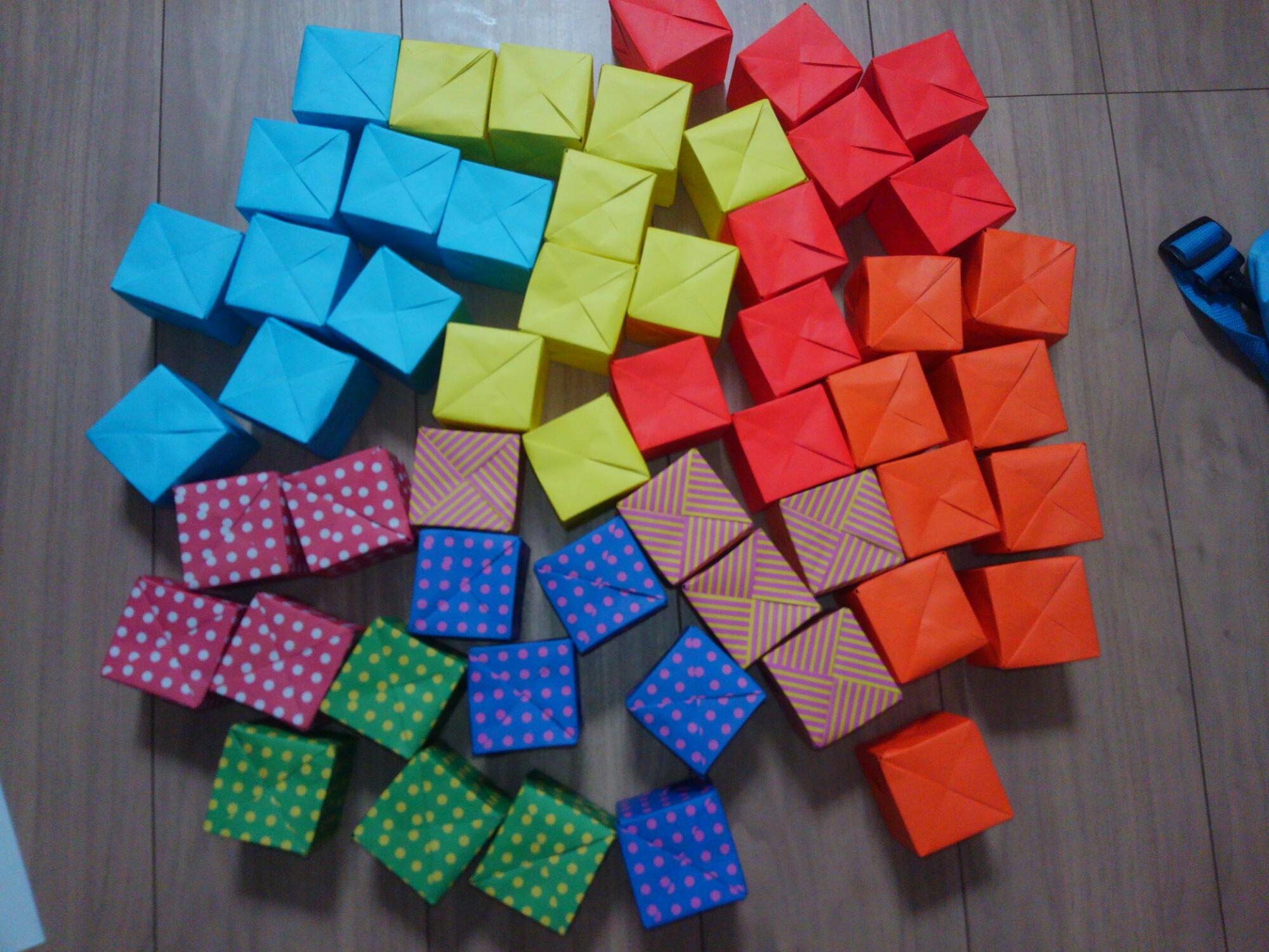 折り紙サイコロ
