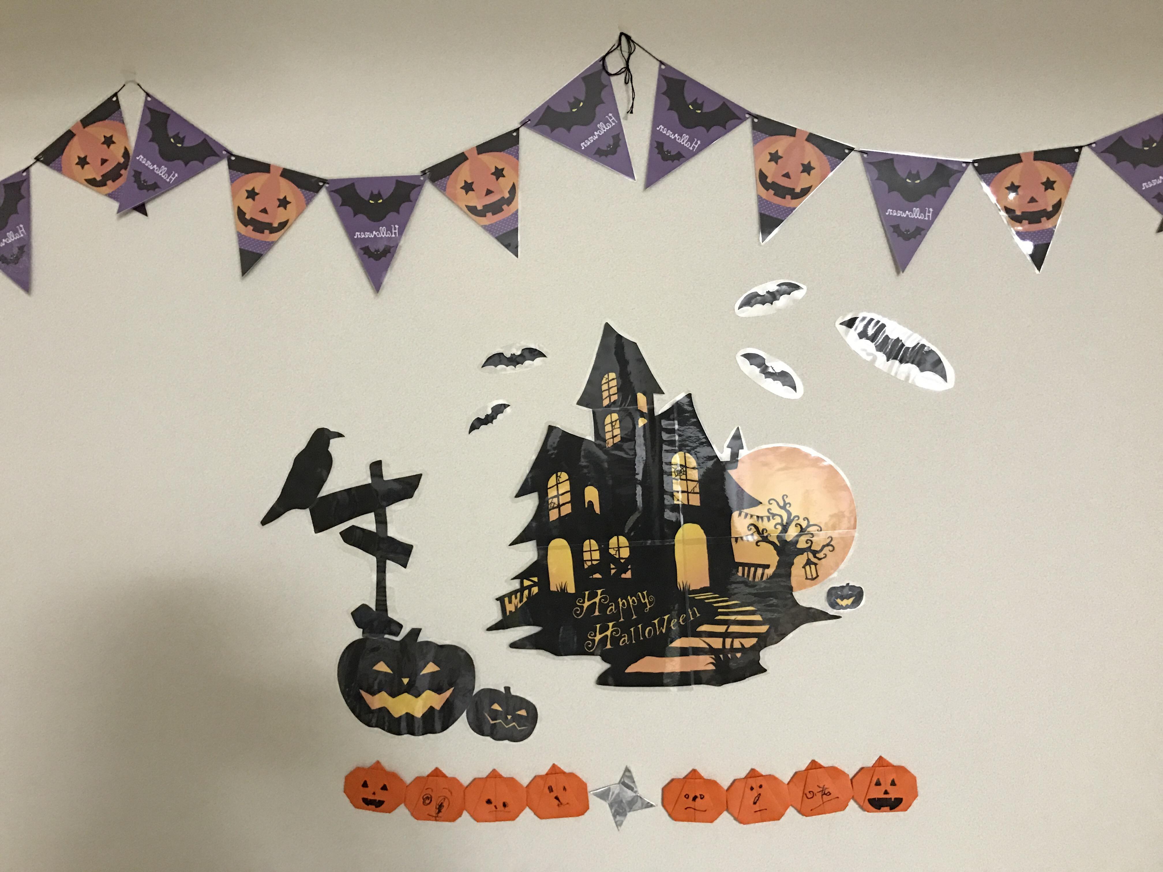 Halloween壁面装飾